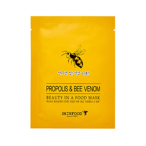 Skinfood Beauty In A Mask Sheet (Propolis & Bee Venom)