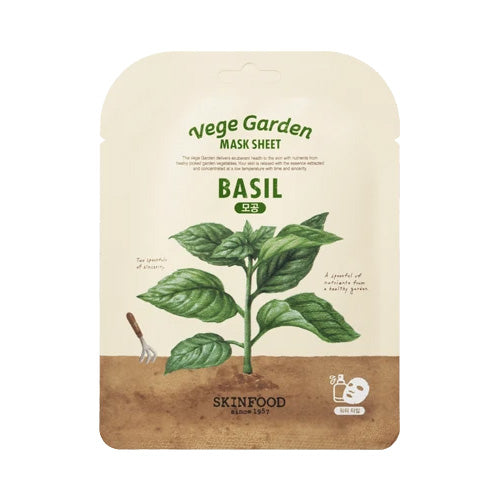 Skinfood Vege Garden Basil Mask Sheet