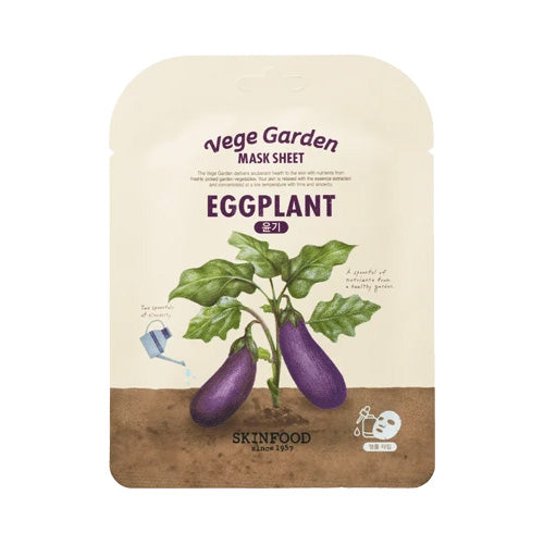 Skinfood Vege Garden Eggplant Mask Sheet