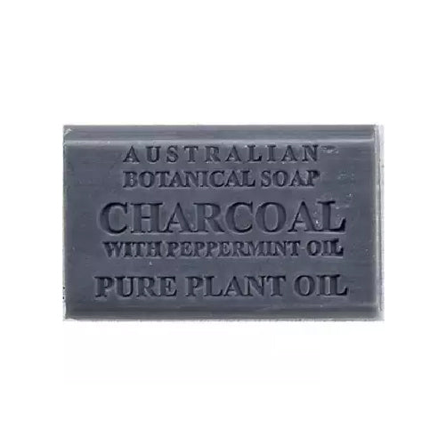 Australian Botanical Soap Charcoal with Peppermint Oil