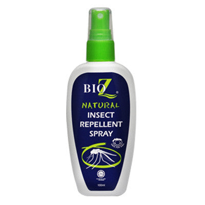 BioZ Natural Insect Repellent Spray [FREE NoItch Cream]