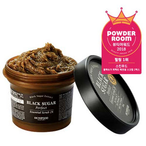 Skinfood Black Sugar Perfect Essential Scrub 2X (Plus Size)