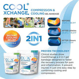 CoolXChange Blue Elastic Gel Bandage