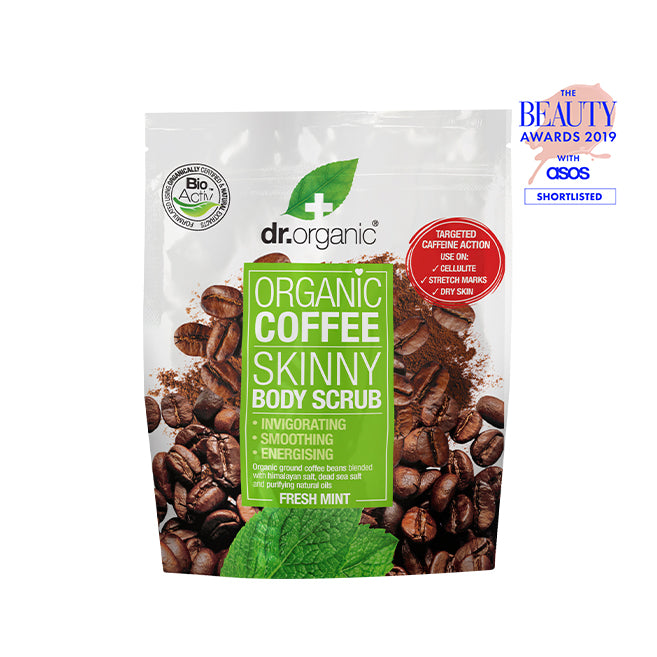 dr. Organic Coffee Mint Body Scrub 200ml [Expiry Date: 08/2021]