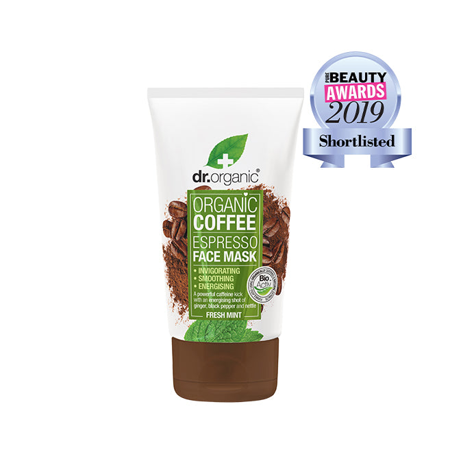 dr. Organic Coffee Mint Face Mask 125ml [Expiry Date: 07/2022]