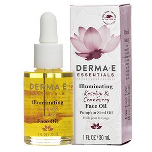 Derma E Illuminating Face Oil Rosehip & Cranberry (**WITHOUT BOX**)
