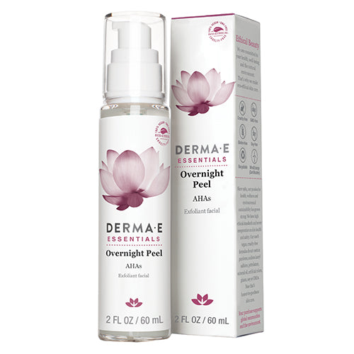 Derma E Essentials Overnight Peel with AHA