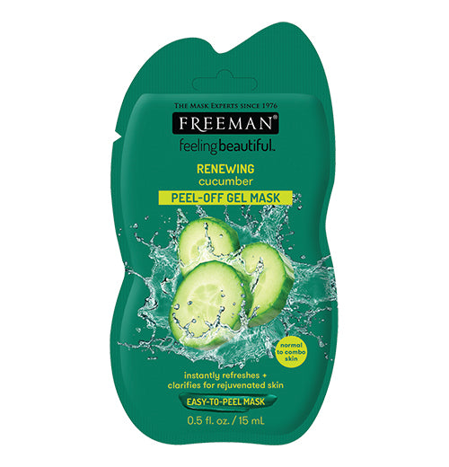 Cucumber Peel-Off Gel Mask (15ml Sachet)