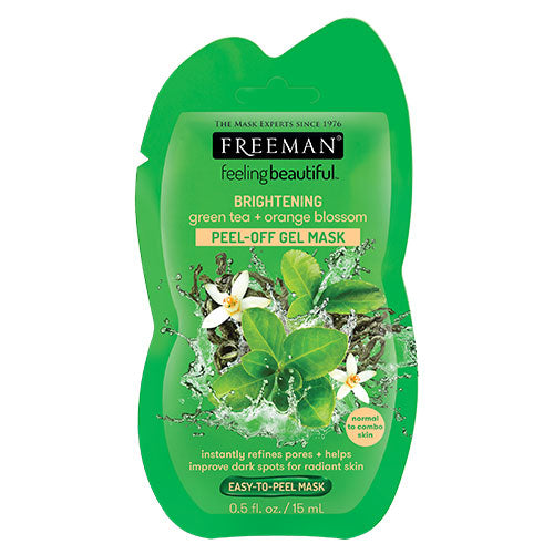 Green Tea & Orange Blossom Peel-Off Gel Mask (15ml Sachet)