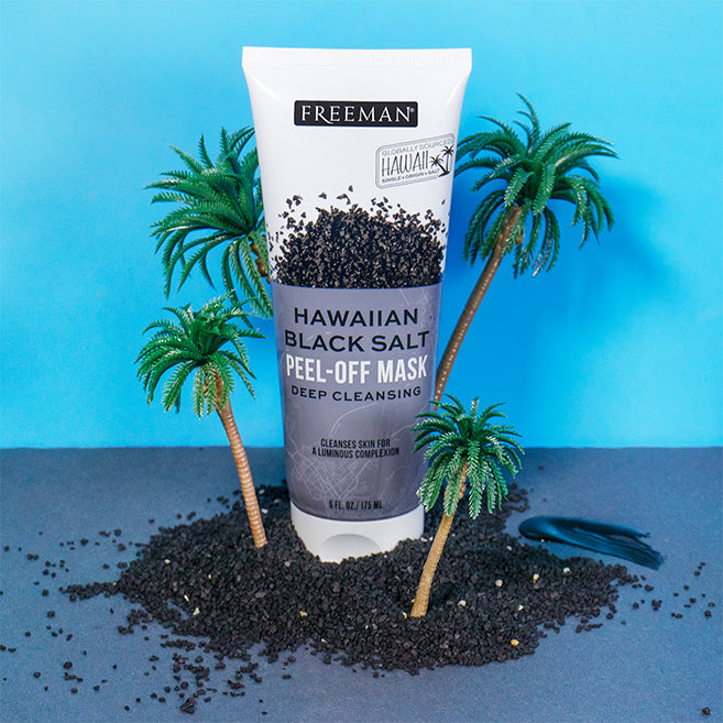 Freeman Beauty Hawaiian Black Salt Peel Off Mask [Expiry Date:03/2023]