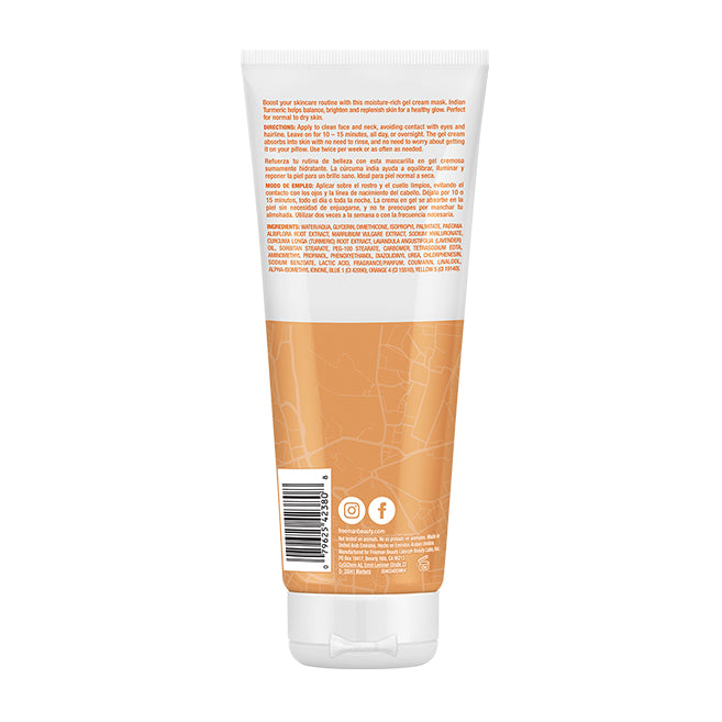 Freeman Beauty Indian Turmeric Gel Cream Mask