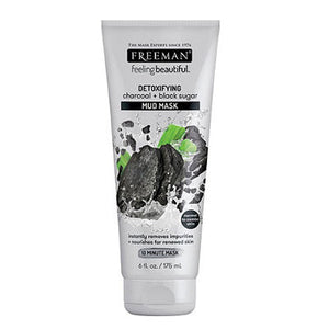 Freeman Beauty Charcoal & Black Sugar Mud Mask
