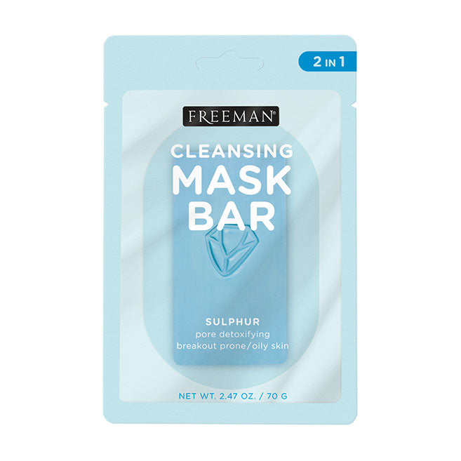 Freeman Beauty Cleansing Mask Bar Pore Detoxifying Sulphur 70g
