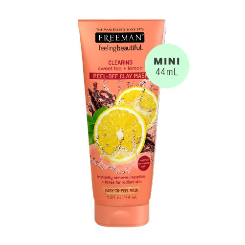(Mini Tube) Freeman Beauty Sweet Tea & Lemon Peel-Off Clay Mask