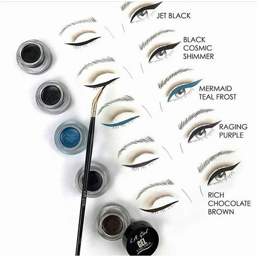 L.A Girl GEL EYE LINER-BLACK COSMIC SHIMMER