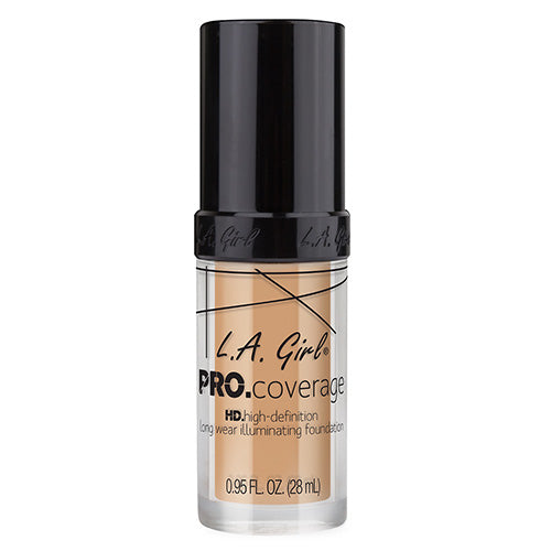 L.A Girl PRO COVERAGE HD FOUNDATION - NATURAL