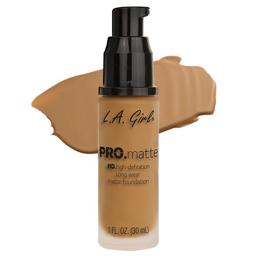 L,A Girl HD PRO MATTE FOUNDATION - SAND