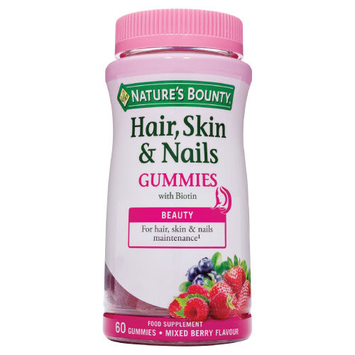 Nature's Bounty Hair, Skin & Nails Gummies with Biotin & Collagen