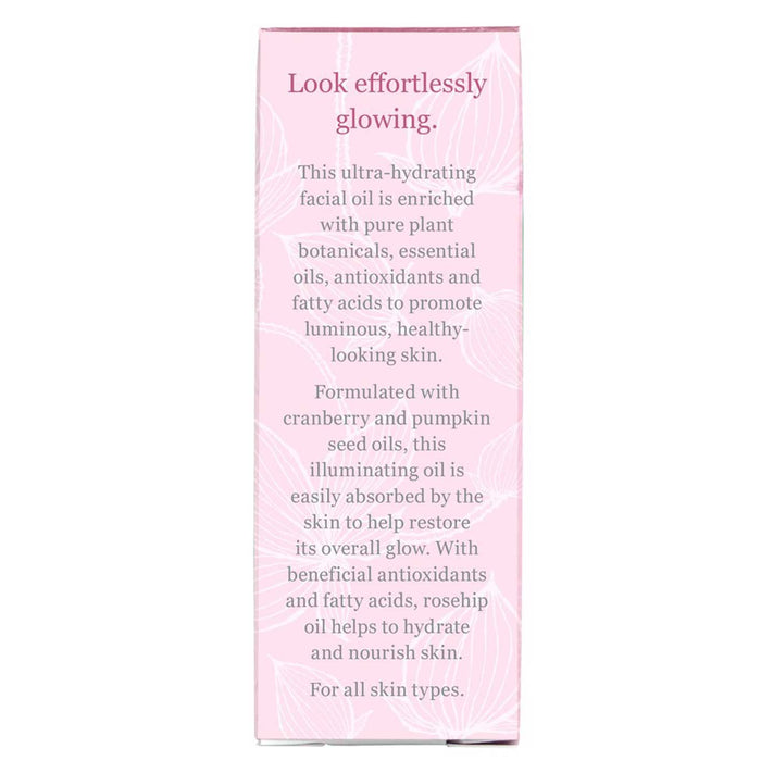Derma E Illuminating Face Oil Rosehip & Cranberry (**WITHOUT BOX**)[Expiry Date:02/2021]