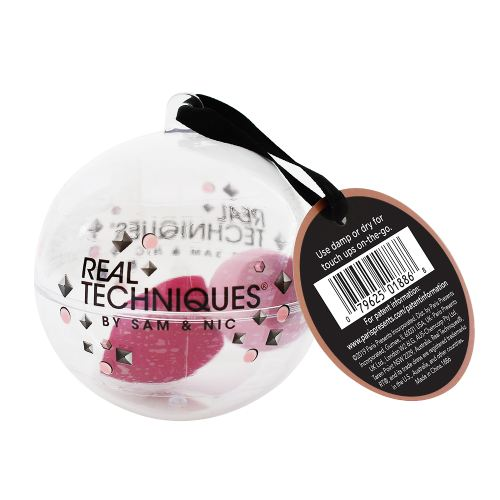 REAL TECHNIQUES Limited Edition 2 Mini Miracle Complexion Sponge Ornament