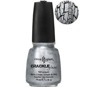 China Glaze Platinum Pieces (Crackle Glaze)