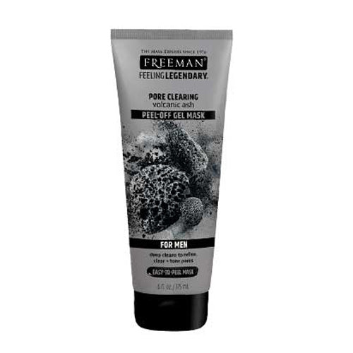 Freeman Beauty Pore Clearing Peel-Off Mask with Volcanic Ash (For Men)(Expir Date:08/2021)