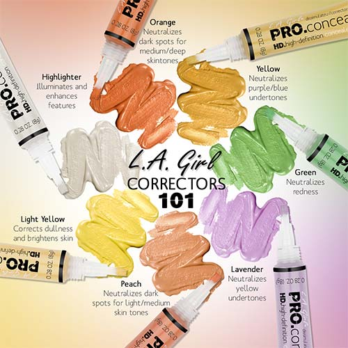 L.A Girl HD PRO CONCEAL - LAVENDER CORRECTOR