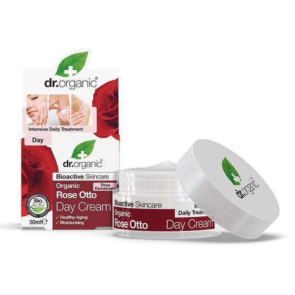 dr. Organic Rose Otto Day Cream 50ml [Expiry Date: 05/2022]