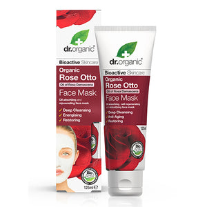 Organic Rose Otto Face Mask