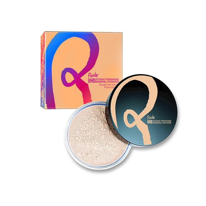 RUDE Ultra High Definition Studio Finishing Mineral Powder - Banana
