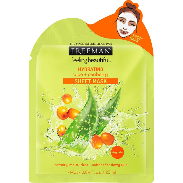 Freeman Beauty Hydrating Aloe + Seaberry Sheet Mask