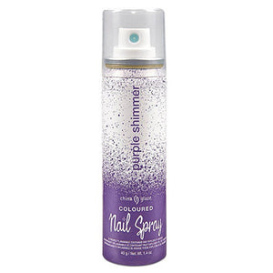 Coloured Nail Spray (Purple)