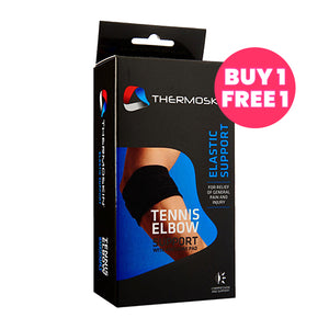 Thermoskin [Buy 1 Free 1] Tennis Elbow Strap with Pressure Pad