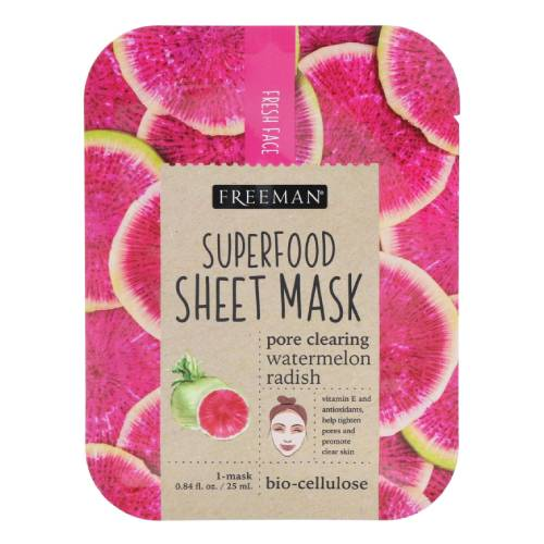 Freeman Beauty SUPERFOOD Pore Clearing Watermelon Radish