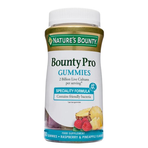 Nature's Bounty Bounty Pro Gummies 2 Billion Live Cultures