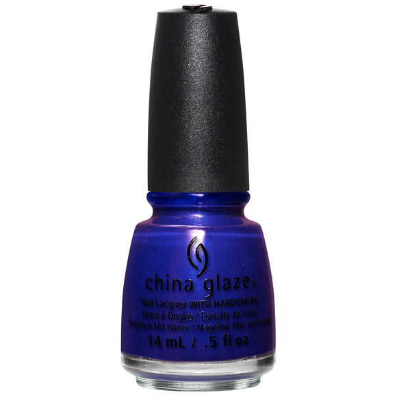 China Glaze Combat Blue Ts