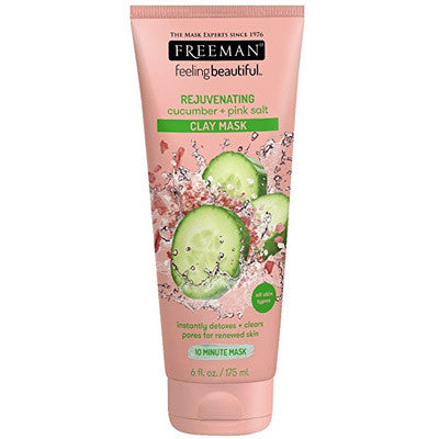 Freeman Beauty Cucumber & Pink Salt Clay Mask