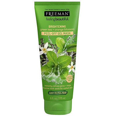 Freeman Beauty Green Tea & Orange Blossom Peel-Off Gel Mask