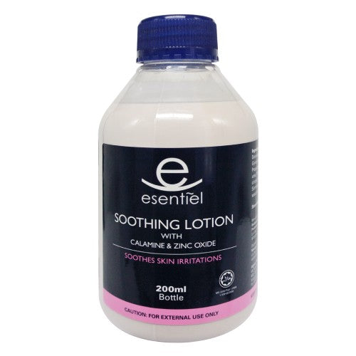 Esentiel Soothing Lotion with Calamine & Zinc Oxide