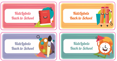 Back to School Stickers - Pack of 42