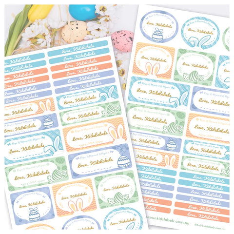 Easter Name Labels 2018