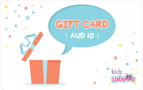 KidzLabels Gift Card
