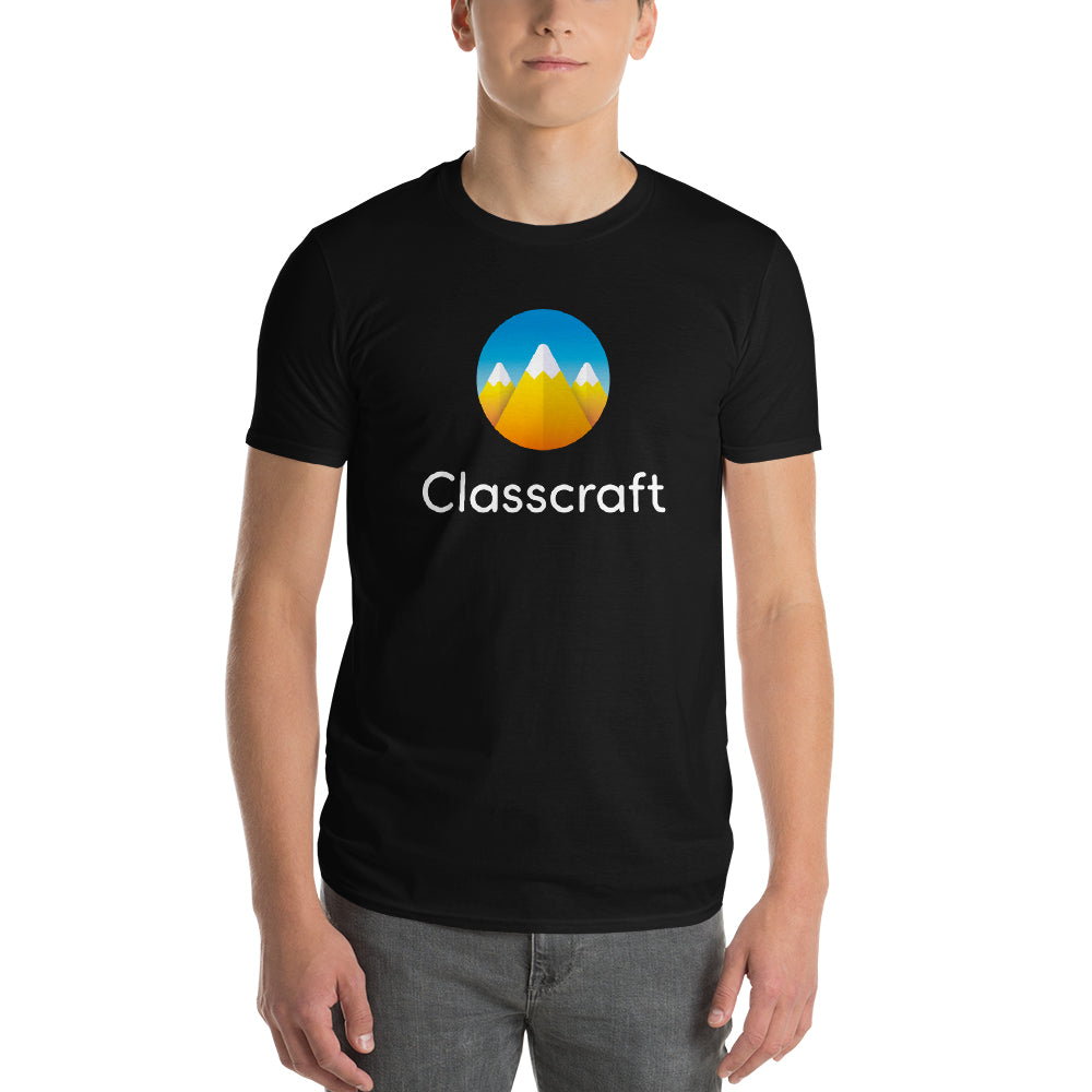 Classcraft Black Short sleeve Men's t-shirt