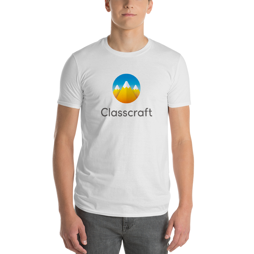 Classcraft White Short sleeve Men's t-shirt
