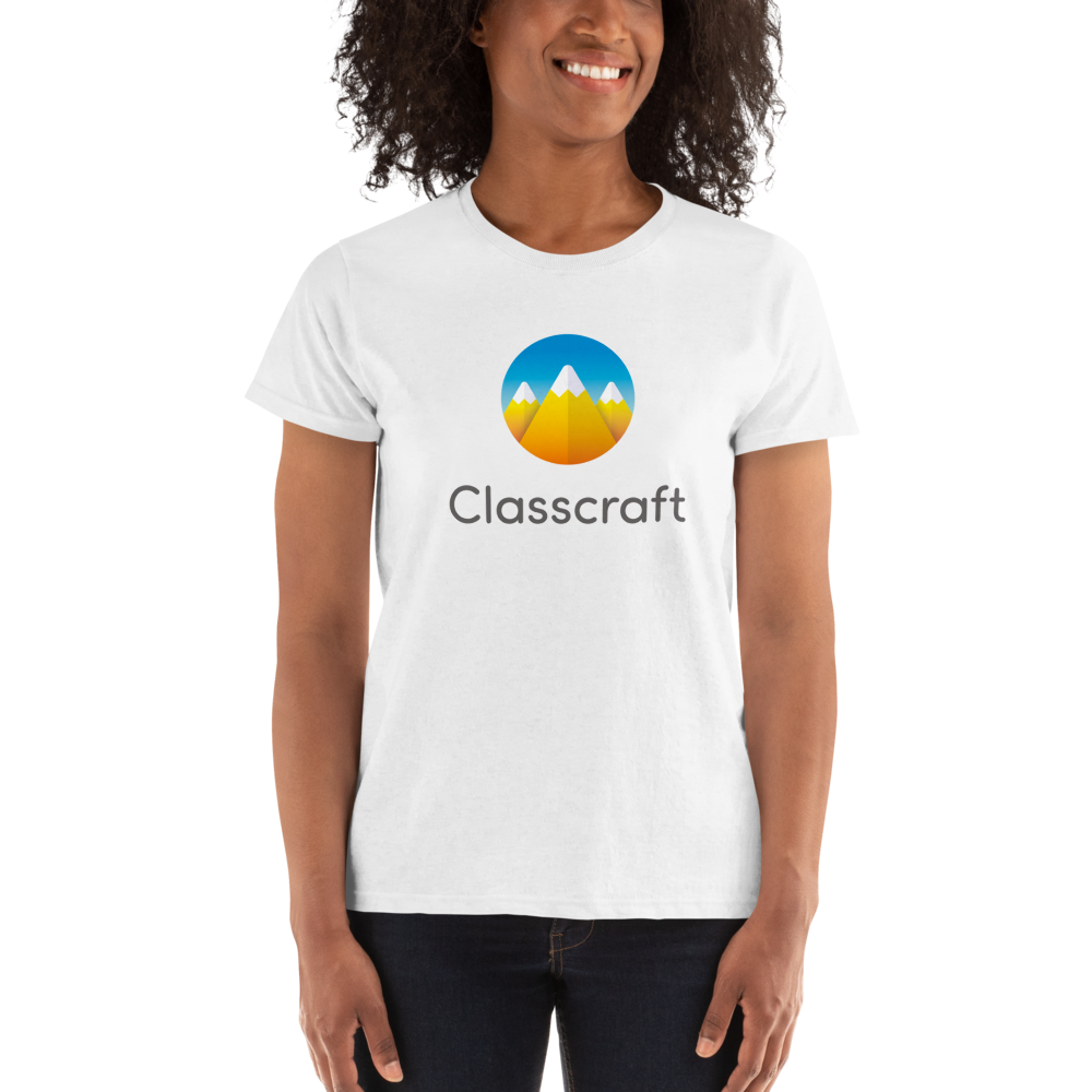 Classcraft White Short sleeve Women's t-shirt