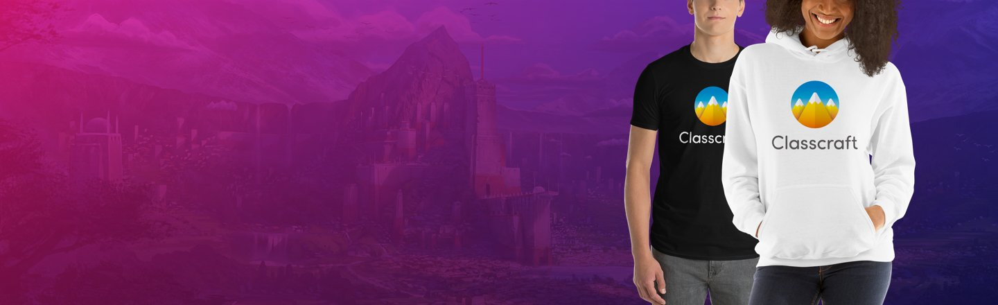 Get Classcraft Merch