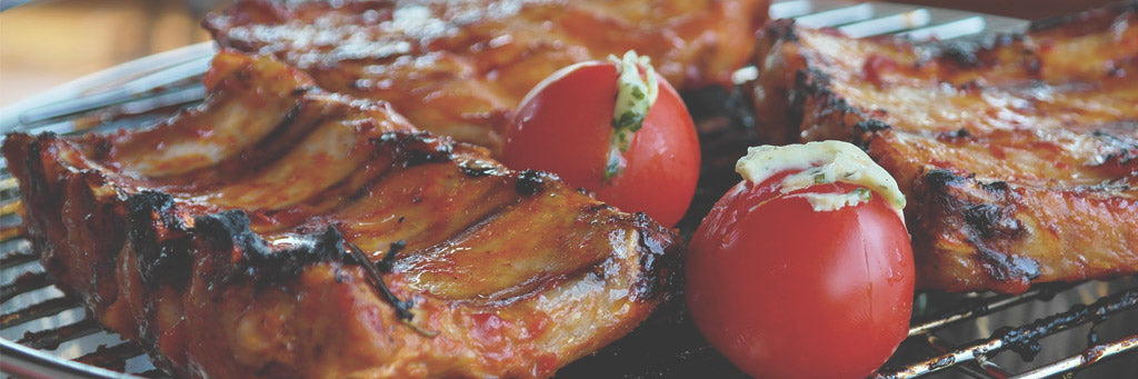 Food Festivals - Succulent Ribs with Grilled Tomato