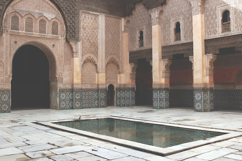 Marrakesh building architecture