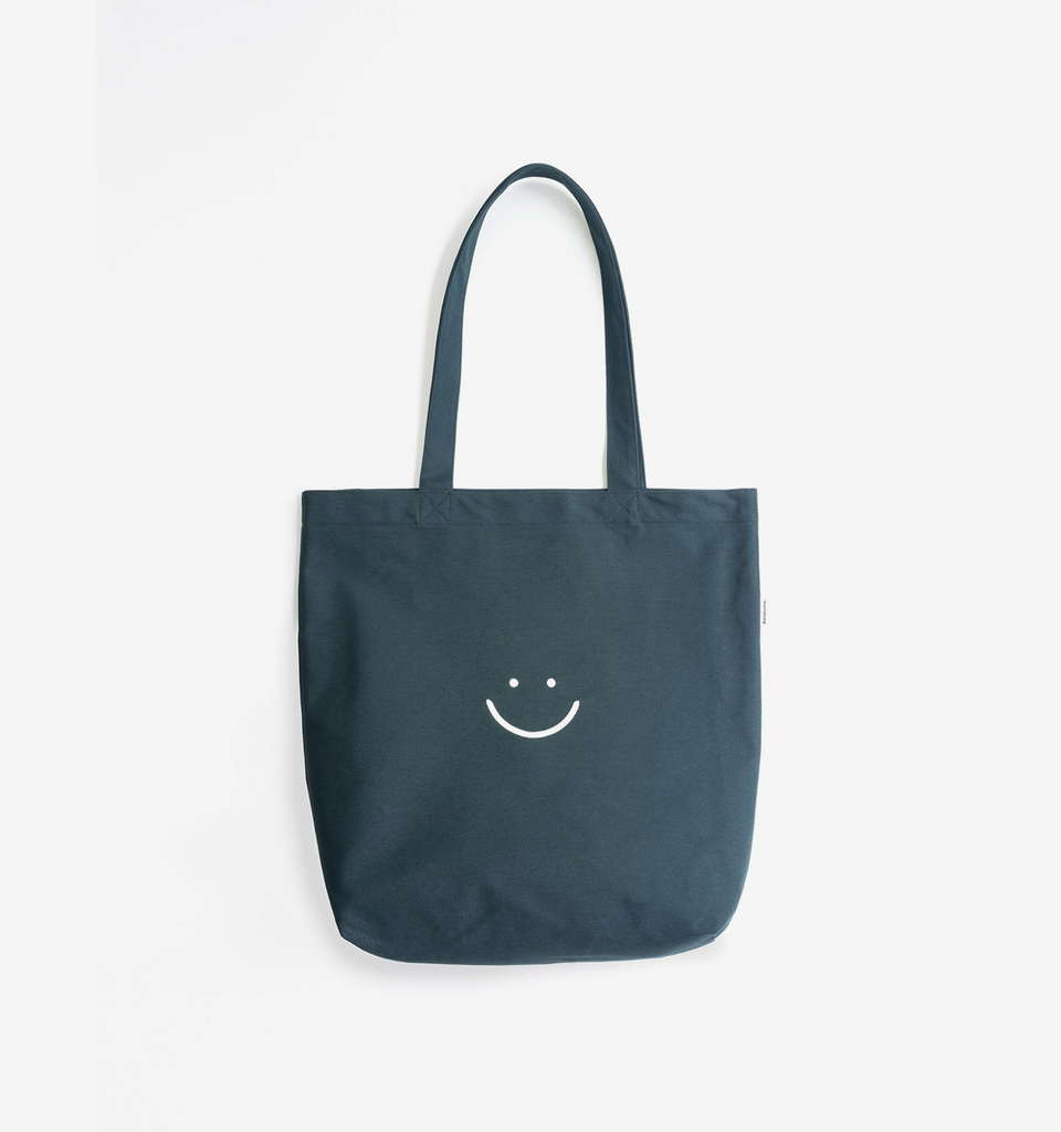 Canvas Pocket Tote Dark Teal
