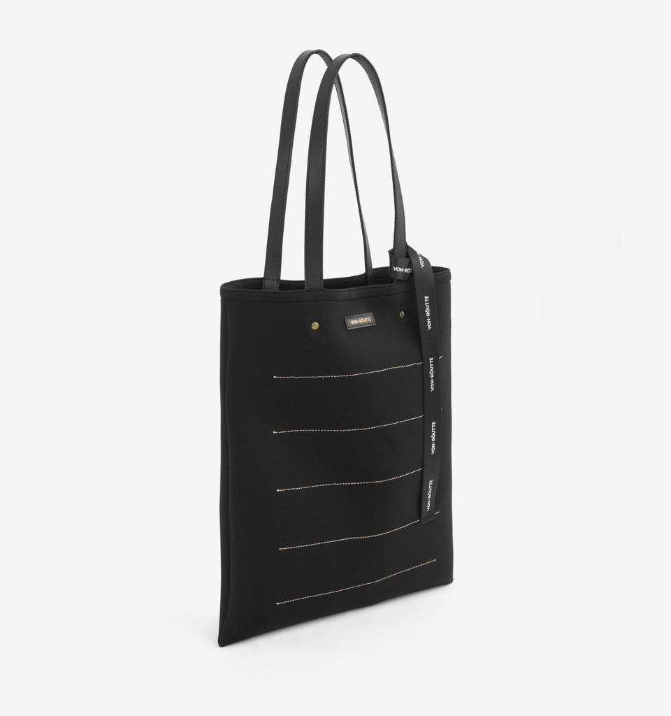 Fitzroy Tote Black - Von-Röutte Leather Sneakers
